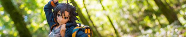 Makoto Kikuchi in the forest